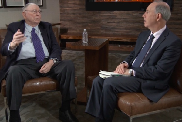 Charlie Munger says single-payer healthcare is the solution