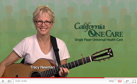 Any good social movement needs a song, and Tracy Newman has it:
